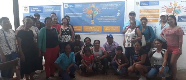 Consulado de Colombia en Tabatinga realizó un homenaje a las Víctimas del Conflicto Armado en Tabatinga