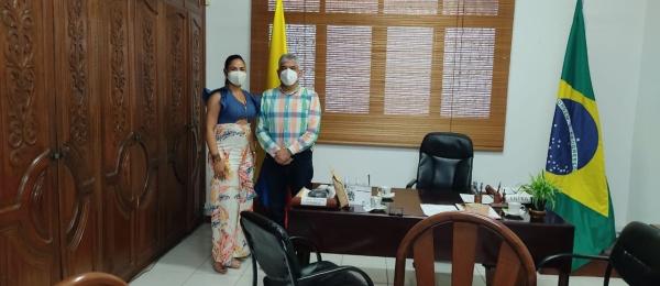 El Consulado de Colombia en Tabatinga recibió la visita de la Representante a la Cámara por el Amazonas, Yenica Acosta
