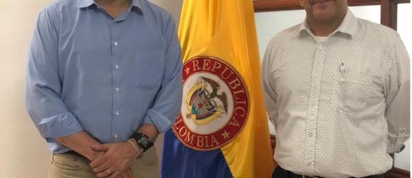 Alto Consejero Presidencial para los Derechos Humanos visita el Consulado de Colombia