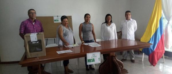 Inició la jornada electoral presidencial 2018 para la segunda vuelta en Consulado de Colombia en Tabatinga