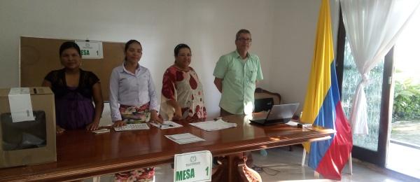 Concluyó la jornada electoral en el Consulado en Tabatinga